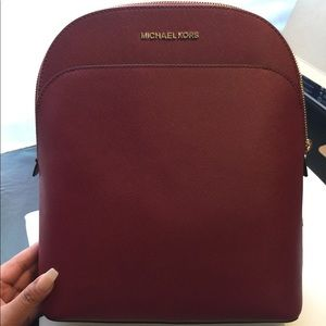 NWT Michael Kors Emmy backpack Mulberry
